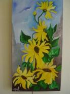 Picturi cu flori In cautarea soarelui