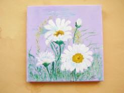 Picturi cu flori Margarete 2