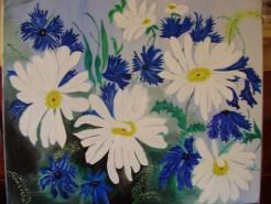 Picturi cu flori Margaritar