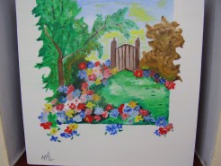 Picturi cu flori Oaza de liniste