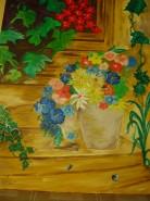 Picturi cu flori Scari cu flori