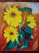 Picturi cu flori Surori