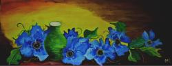 Picturi cu flori Tacerea florilor
