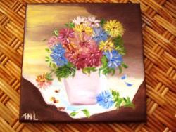 Picturi cu flori Toamna cu flori