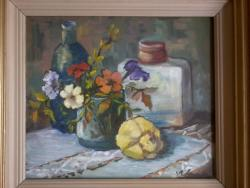 Picturi cu flori Petunii