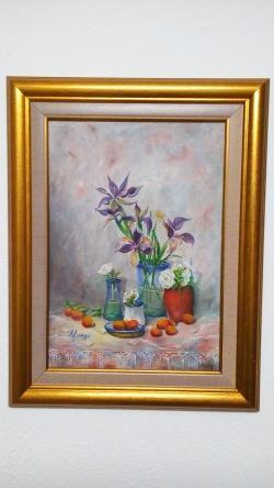 Picturi cu flori Parfum de iris