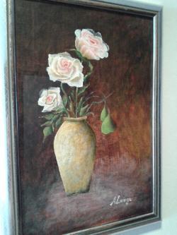 Picturi cu flori still life 1