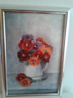 Picturi cu flori still life 3