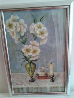Picturi cu flori still life 5
