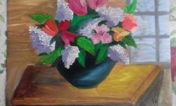 Picturi cu flori Flori de primavara!