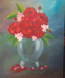 Picturi cu flori Vaza cu flori 333