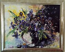 Picturi cu flori Tablou irisi