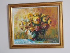 Picturi cu flori Vaza flori