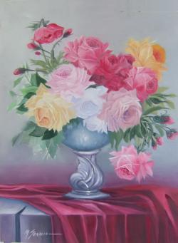 Picturi cu flori flori cu parfumul dorintei