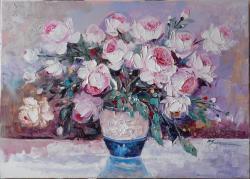 Picturi cu flori flori de gradina  a22