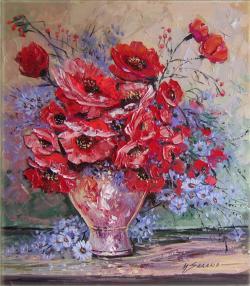 Picturi cu flori florile se nasc plapande
