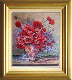 Picturi cu flori maci--6vvc