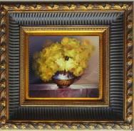 Picturi cu flori Trandafiri aurii--98
