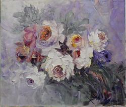 Picturi cu flori trandafiri in vibratie de lumina z