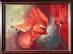Picturi cu flori Intalnire