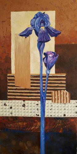 Picturi cu flori Iris 6 MF
