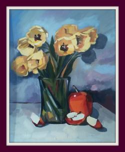 Picturi cu flori Lalele, lalele, lalele