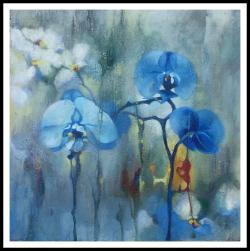 Picturi cu flori Orhidee 1