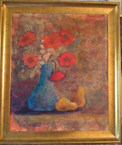 Picturi cu flori Fantezii de august