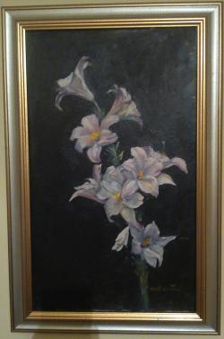 Picturi cu flori Fir de crin