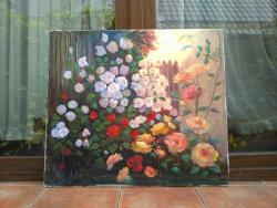 Picturi cu flori gradina
