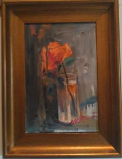 Picturi cu flori În urma celui care pleacă