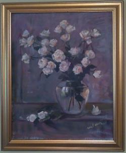 Picturi cu flori Trandafiri melancolici
