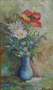 Picturi cu flori Flori de camp-1978