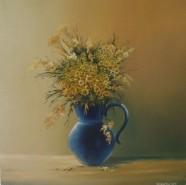 Picturi cu flori Floricele pe campii..acum in vaza