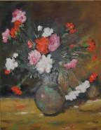 Picturi cu flori Garoafe (1980)