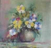 Picturi cu flori Tablou cu Panselute  (1975)