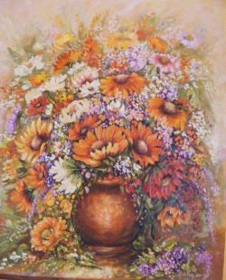 Picturi cu flori buchetul de ziua ta