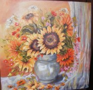 Picturi cu flori Miraj