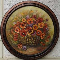 Picturi cu flori Parfum de primavara si o dorinta uitata