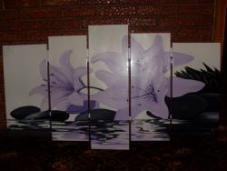 Picturi cu flori revarsare in apa