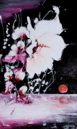 Picturi cu flori RUJALINA