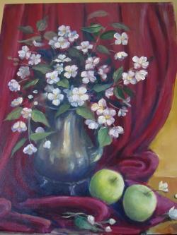 Picturi cu flori flori de lamaita
