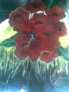 Picturi cu flori Sarutul noptii