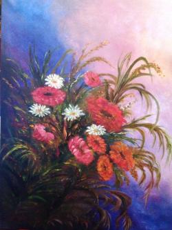 Picturi cu flori amintiri