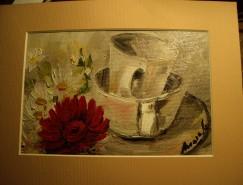 Picturi cu flori Dimineata de mai