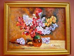 Picturi cu flori compozitie florala2