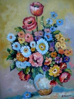 Picturi cu flori flori de camp 01