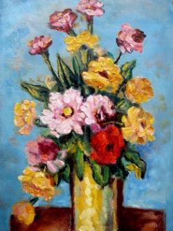 Picturi cu flori flori de camp tip 3