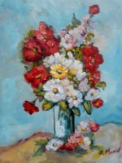 Picturi cu flori Flori sporul casei