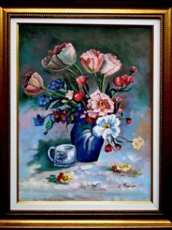 Picturi cu flori Frumoasele mele lalele 3
